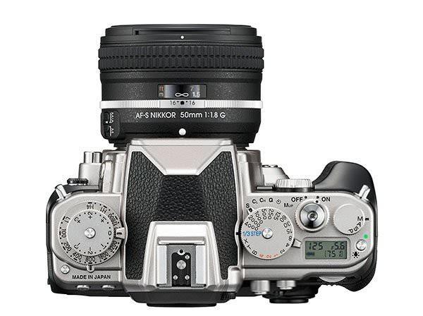 Nikon DF Top Classic Silver