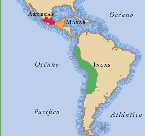 Historia universal primeras culturas americanas for Cultura maya ubicacion