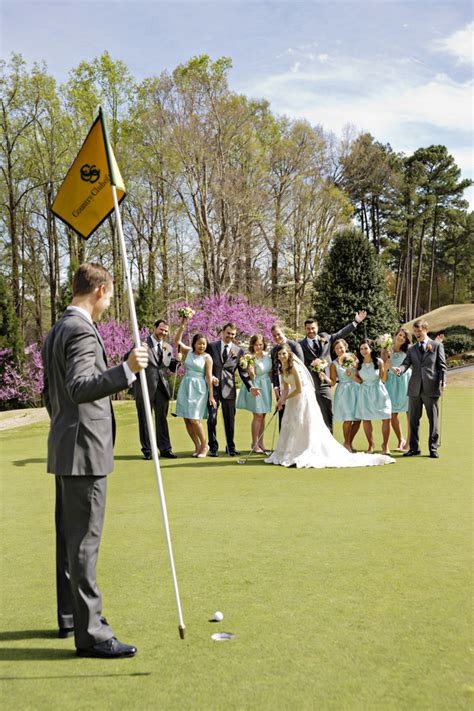 southern golf  wedding preppy wedding style