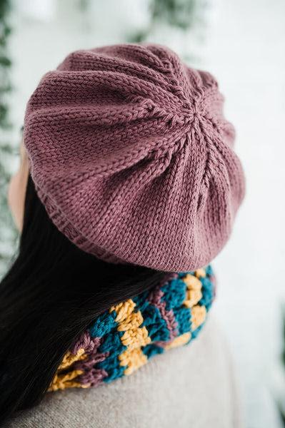 Palisades Park Beret (Knit) pattern