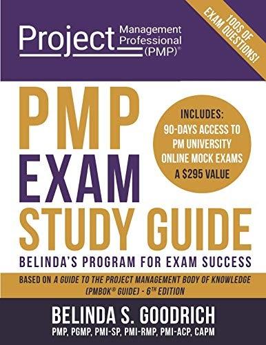 Download Now  Pmp Exam Study Guide  Belinda U0026 39 S Program For