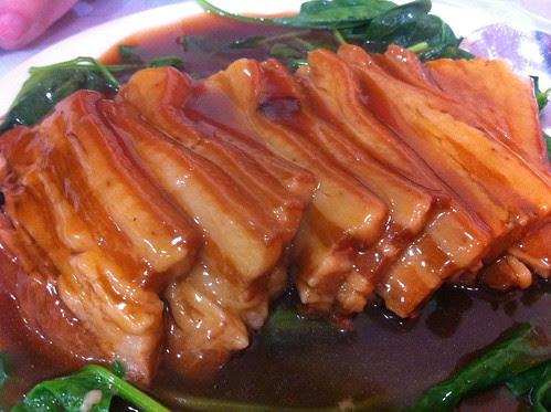 Pork w/ Special Sauce, Jiang Li Restaurant (鴻意順), Kissena Blvd, Flushing, Queens