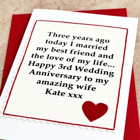 Updated Info 3rd Wedding Anniversary For Wife