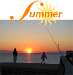 summer-sun-over-lakeshore-title