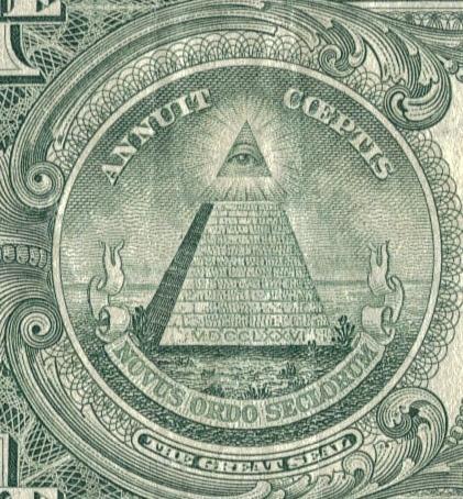 Masonic Pyramid(the all seeing eye) - the-lost-symbol photo