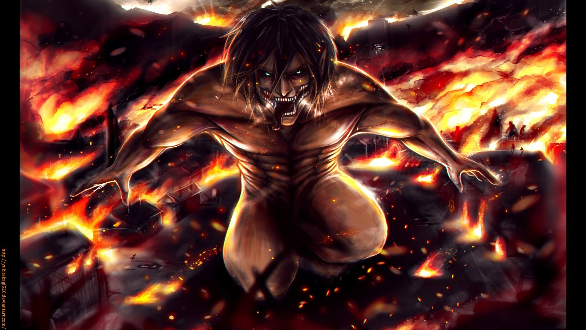 Attack On Titan Wallpaper Eren 72 Images