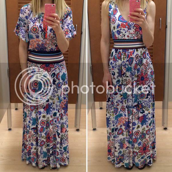 Milly for Kohls Print Maxi Dress Skirt