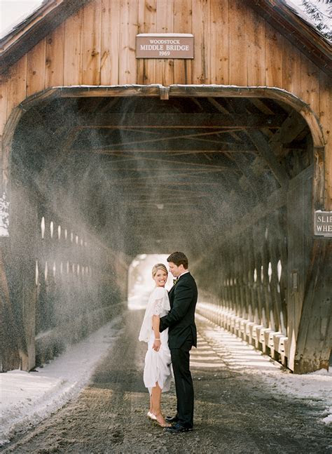 Sandy   Craig?s Vermont Winter Wedding