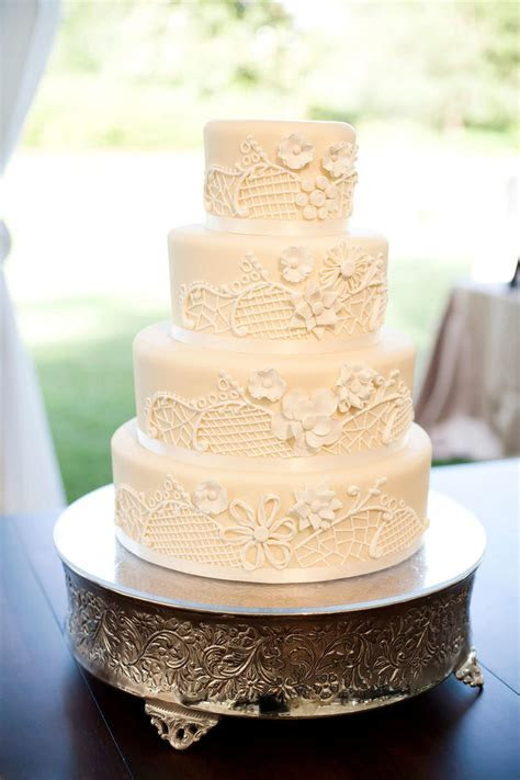 White Wedding Cakes   Southern Living