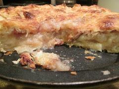 sliced mock apple pie by Teckelcar
