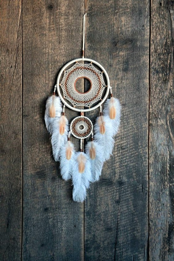 DIY Beautiful and Unique Dream Catcher Ideas (41)