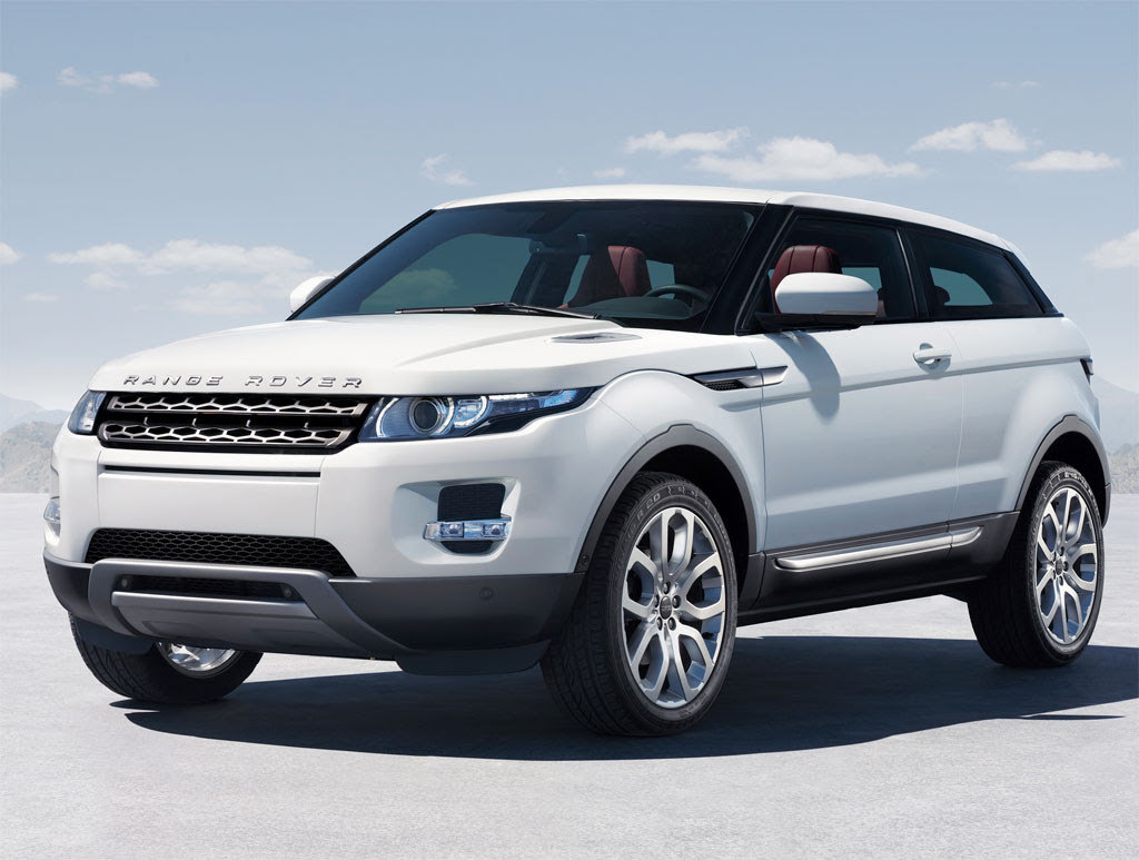 100 Hot Cars » Land Rover Range Rover Evoque