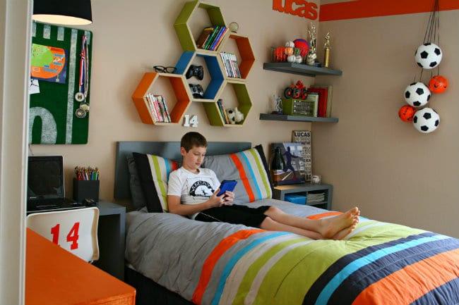 Cool Teen BedRoom Makeover - - Todays Creative Blog