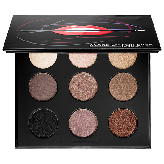 Makeup forever 3 eyeshadow palette
