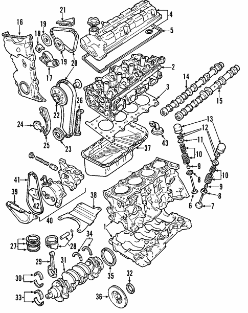 2002 Suzuki Esteem Engine Diagram