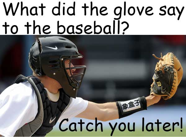baseball glove catch 棒球 手套 接球
