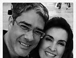 Foto do ex-casal nas redes sociais