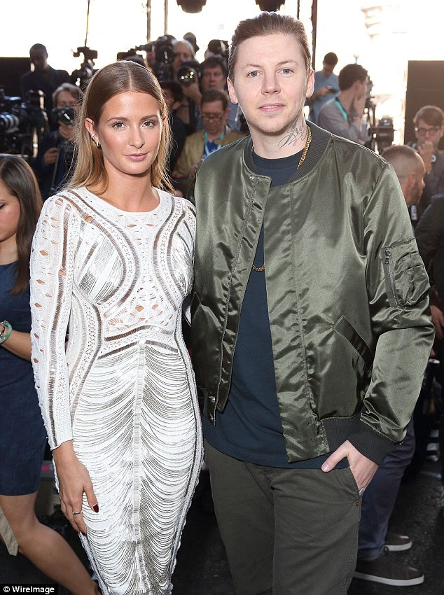 Trouble:In summer 2015 it was then reported Millie had demanded a divorce during explosive row in Istanbul, before she and Professor Green announced their separation in February 2016