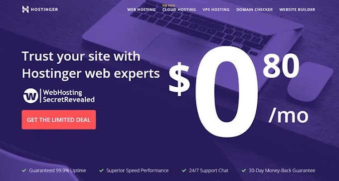 Free Web Hosting Site (2019): How to host a website at a cost of $ 0 !