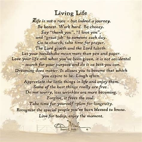 Living Life Quotes By Bonnie Mohr