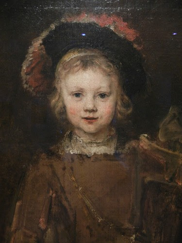 DSCN7598 _ Portrait of a Boy (detail), 1655-60, Rembrandt van Rijn (1606-1669), Norton Simon Museum, July 2013