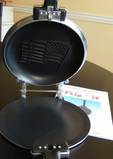 pancake pan open