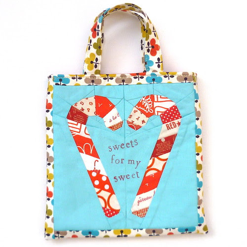Candy Cane Love Paper Pieced Pattern