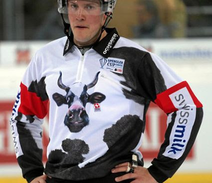 Spengler Cup Referee Cow Jersey 2013 photo SpenglerRef2013.jpg