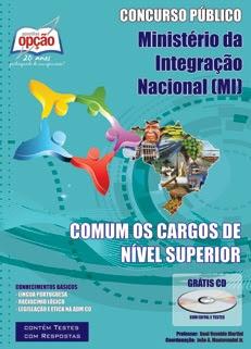 Ministério da Integração Nacional (MI)-COMUM OS CARGOS DE NÍVEL SUPERIOR-ASSISTENTE TÉCNICO ADMINISTRATIVO