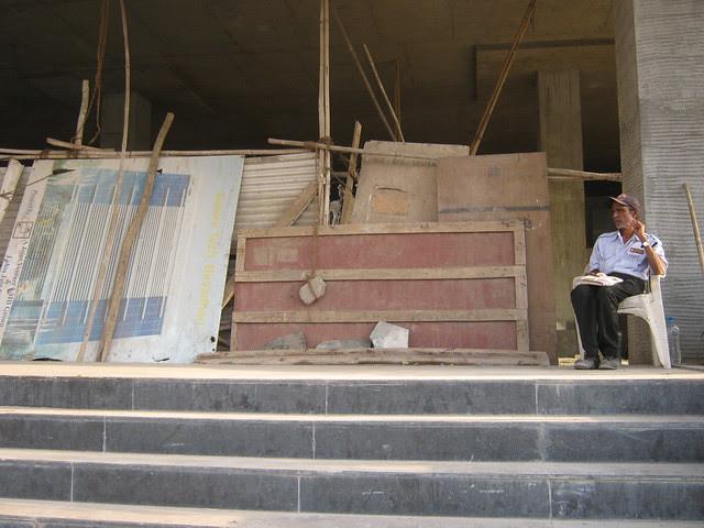 Watchman at Galore Tech Park - Visit Lohia Jain Group's Riddhi Siddhi, 2 BHK & 3 BHK Flats at Bavdhan Khurd, Pune 411 021