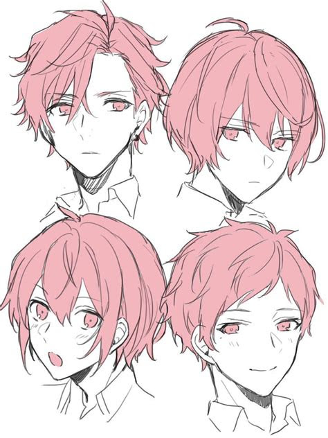 anime hair drawing reference  sketches  artists