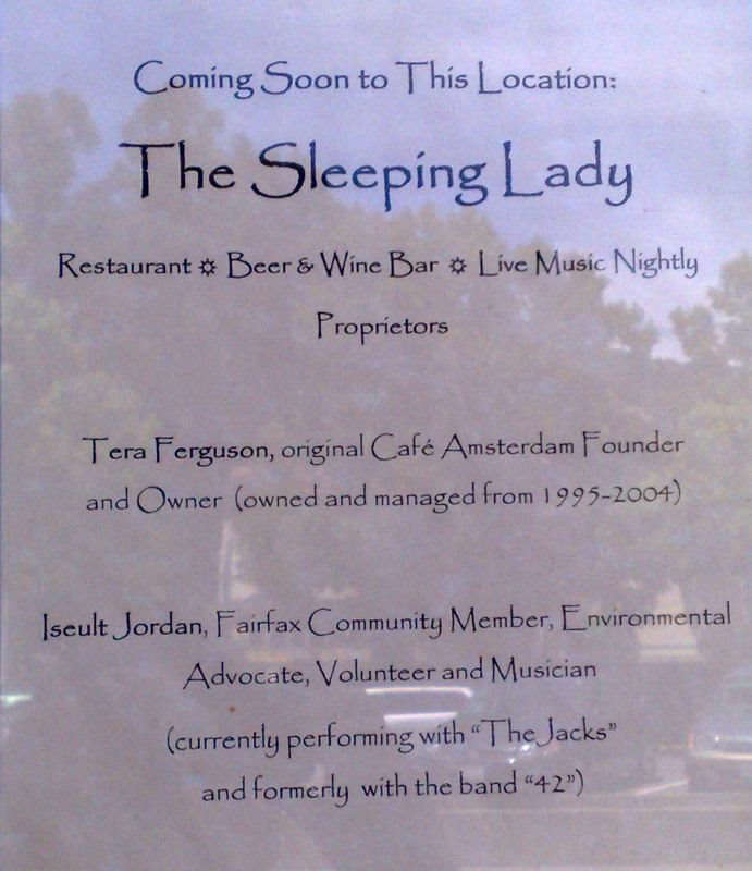 The Sleeping Lady Announcement