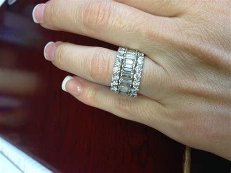 Show Me Your Diamond Eternity Bands!!!!   Diamonds   Rings