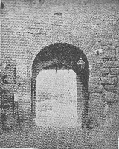 Puerta de Valmardón hacia 1900