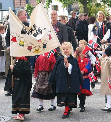 Syttende Mai parade, Syttende Mai parade