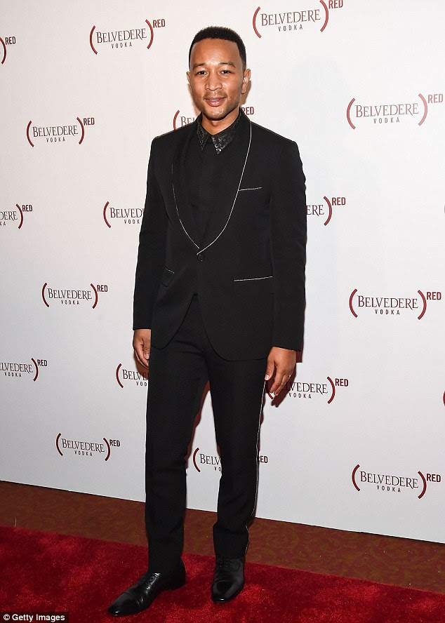 Looking good! The star attended the Belvedere Presents One Night for Life with John Legend event at the legendary Apollo Theater that evening