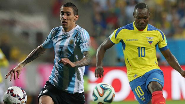 La Ultima Argentina Vs Ecuador Sin Lionel Messi Por Eliminatorias Rusia 2018