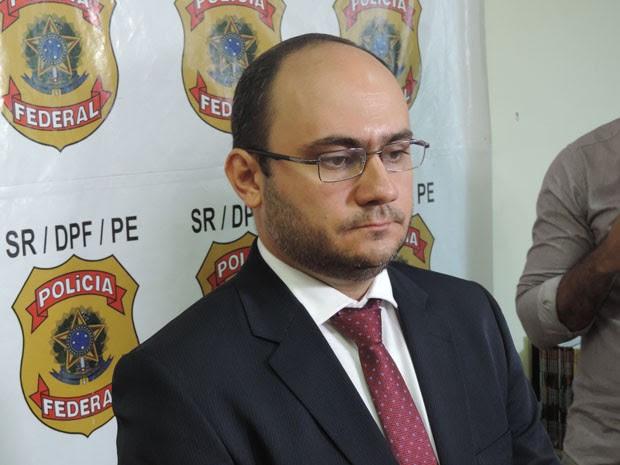 Daniel Silvestre é o delegado responsável pelas operações (Foto: Katherine Coutinho/G1)