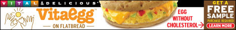 New! VitaEgg Flatbread Sandwiches-Get Free Sample!