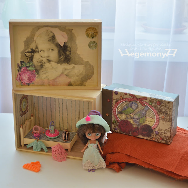 Gifts from a dolly friend - Littlest Pet Shop Blythe doll and accessories