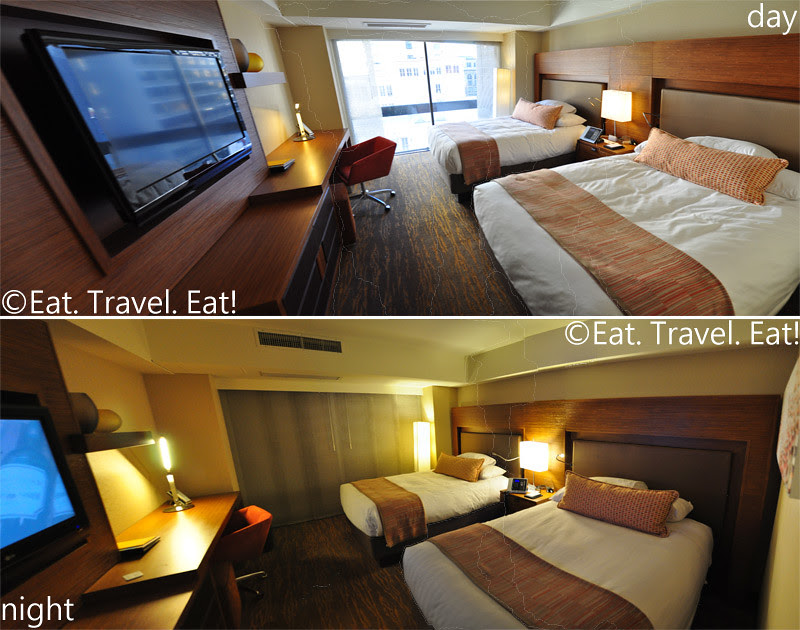 Grand Hyatt San Francisco: Double Beds Room Panoramic- Day and Night