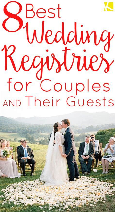 Top 8 Wedding Registries That Give You Major Perks   The