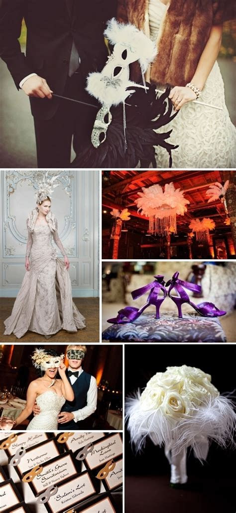 A Masquerade Ball Wedding Inspiration Board for a Magical