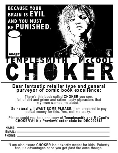 Want CHOKER? Print this here thingy.