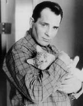 Jack kerouac with cat! (Sent by RunD).