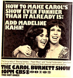 TV Blog - Carol Burnett Show