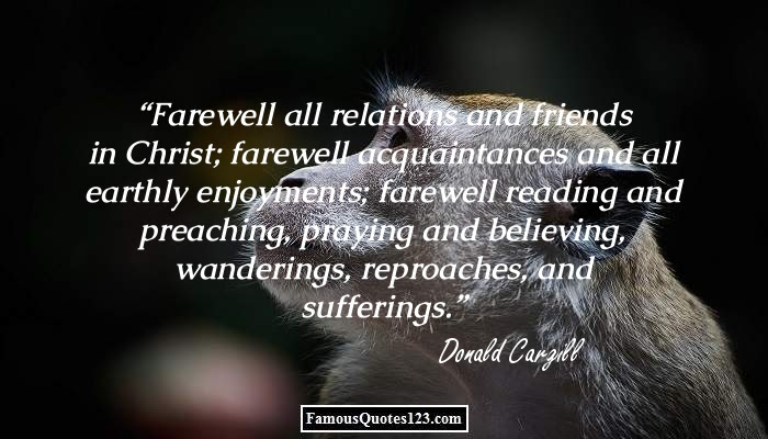 Farewell Quotes Famous Goodbye Quotations Sayings