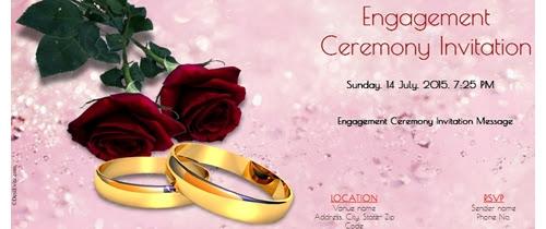 Free Online Engagement Invitation