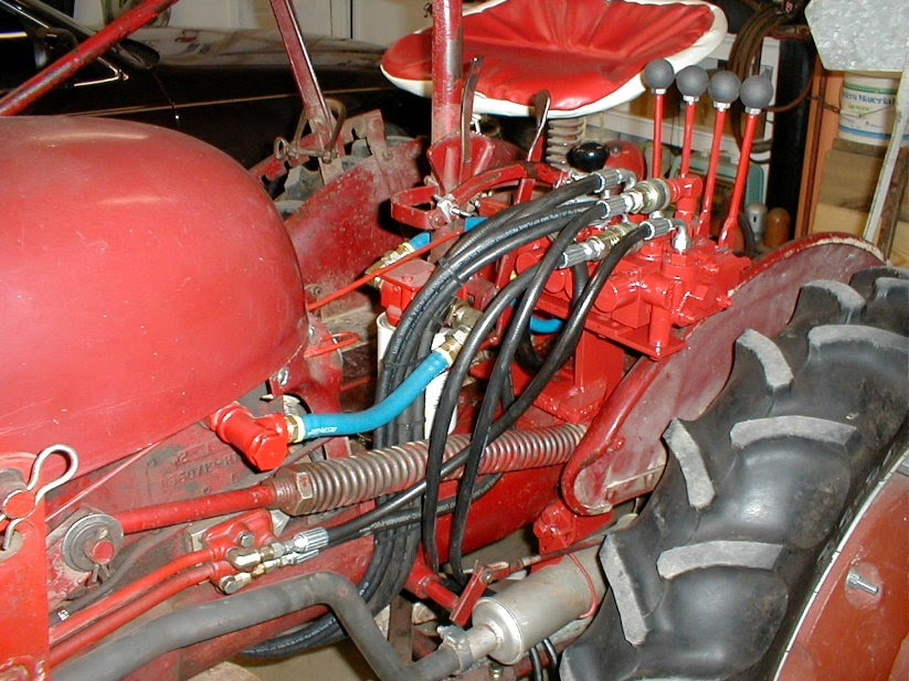 5 Farmall Super M Hydraulic System