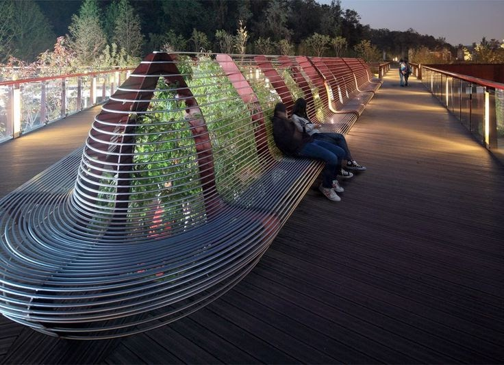 Project Working Idea Buy Battery Park Bench Design